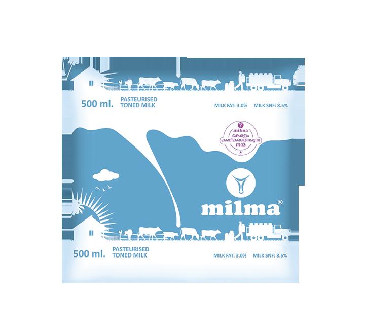 Milma Toned Milk